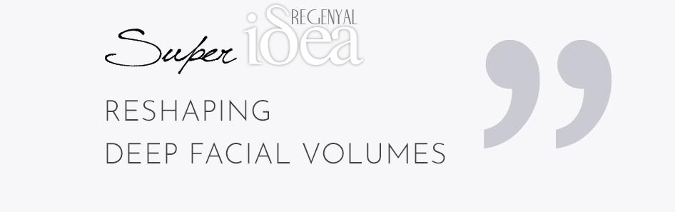 re-shaping deep facial volumes