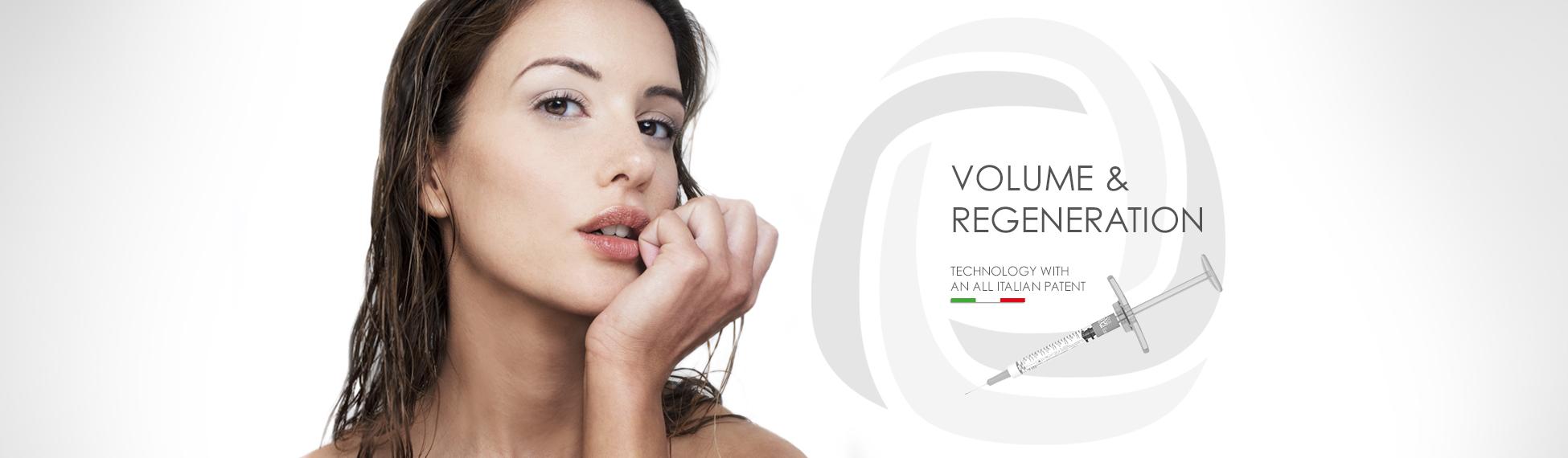 BIORIVOLUMETRIA, volume e regeneration, technology with an all italian patent