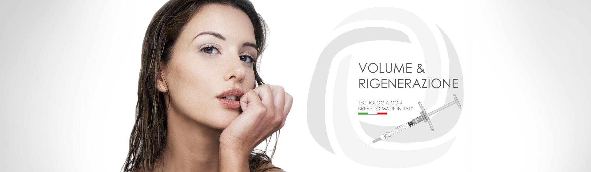 BIORIVOLUMETRIA, volume e rigenerazione. Tecnologia con brevetto made in Italy.